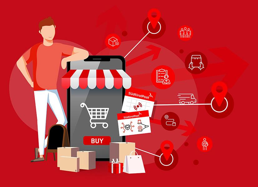 Südtirol Post - Logistica per E-commerce